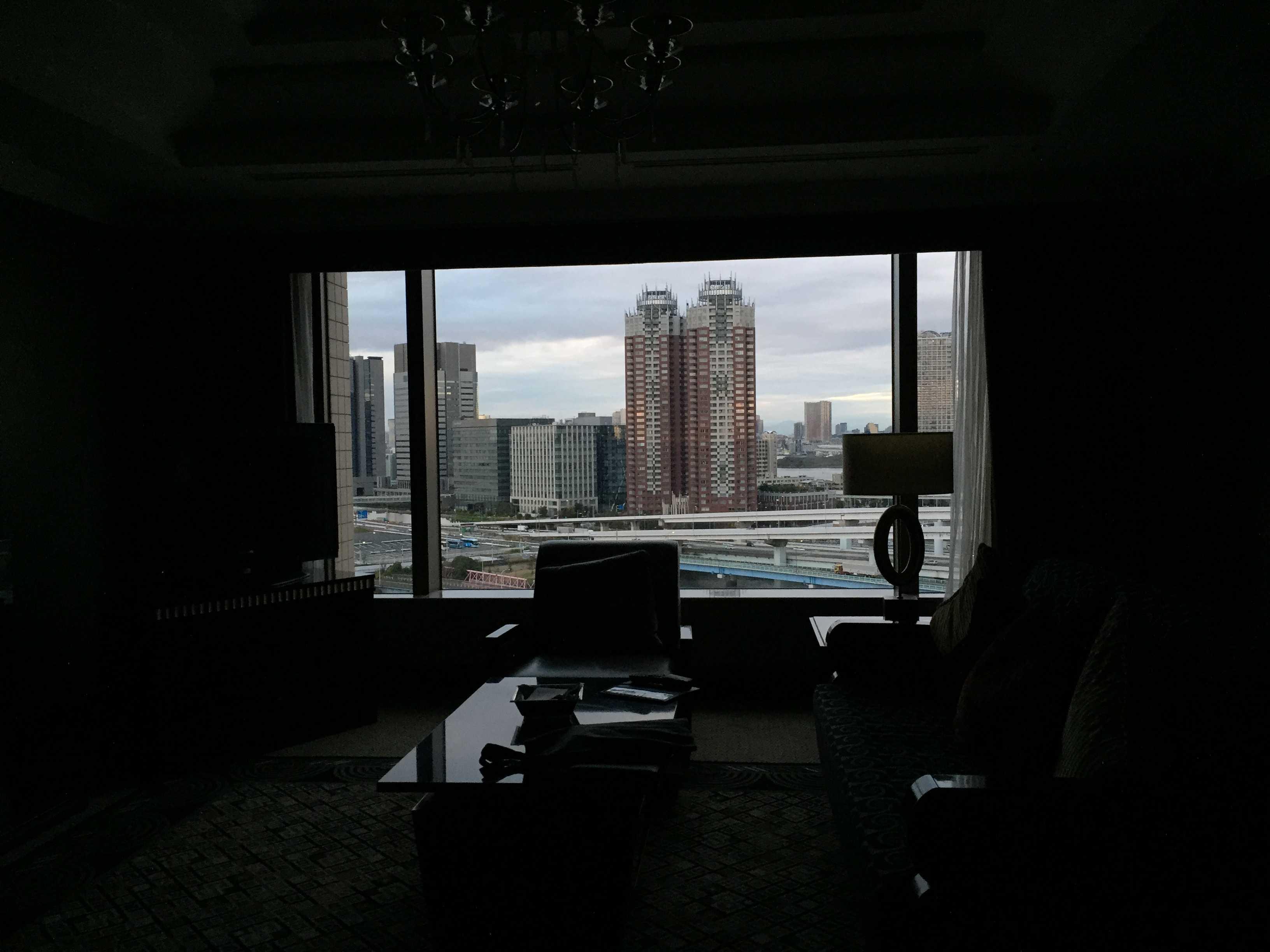 東京ベイコート倶楽部 1401号室からの眺め