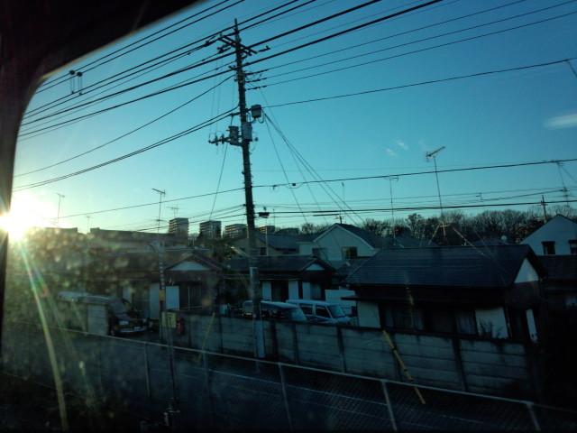 JR中央線 車窓からの風景
