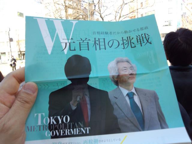 W元首相の挑戦 - 細川護煕&小泉純一郎
