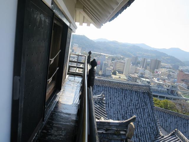 高知城の天守閣