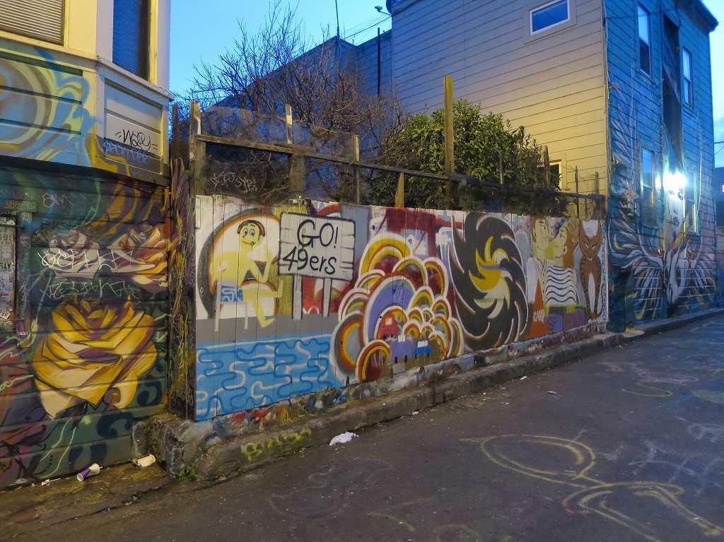 壁画  - サンフランシスコ・ミッション地区