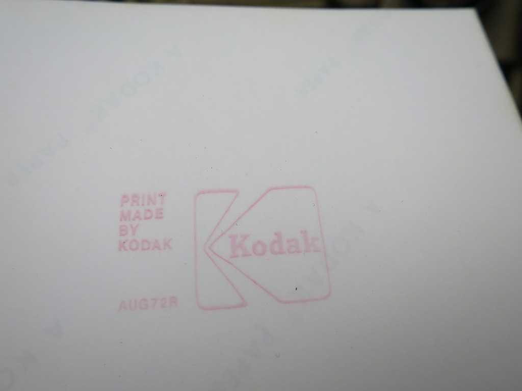 コダック(Kodak)- 1972年秋 サンフランシスコ
