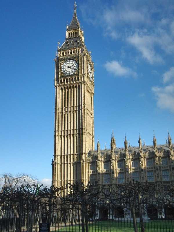 ロンドン ビッグ・ベン(Big Ben)