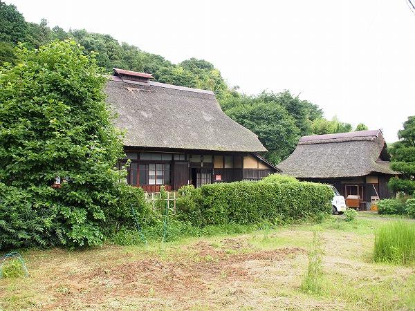八王子・小泉家屋敷 茅葺き屋根の養蚕農家