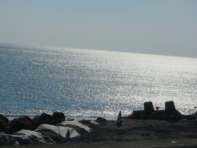 土佐(高知)の白い海