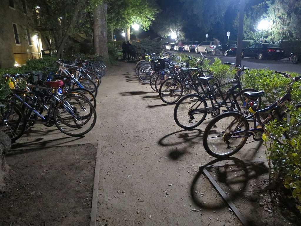 スタンフォード大学の自転車