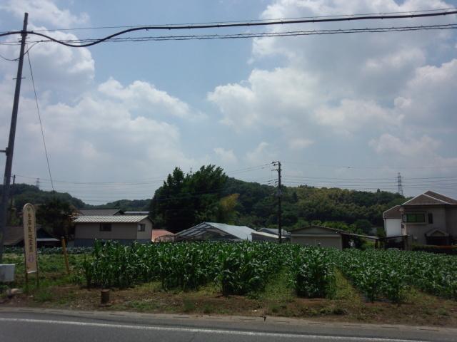 八王子市加住町の青い空