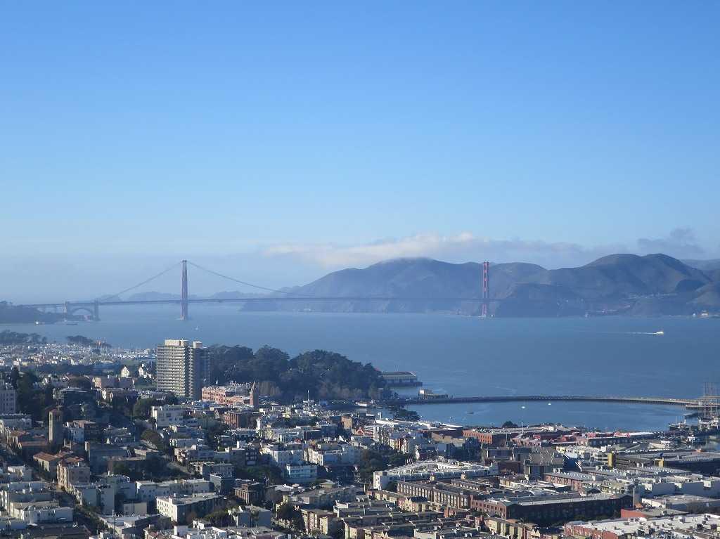 サンフランシスコ - 金門橋(ゴールデンゲートブリッジ)