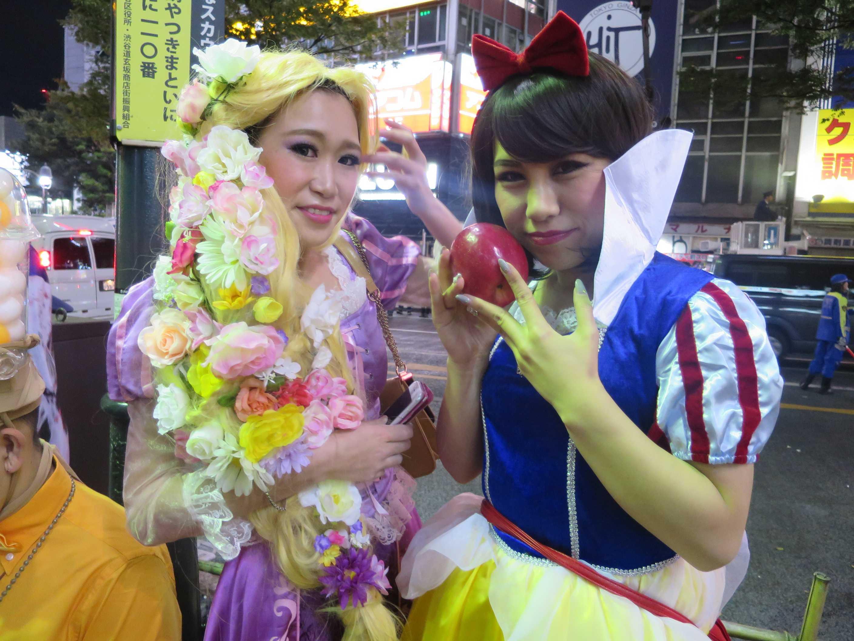 渋谷ハロウィーン - キャンディーキャンディーのイライザかエースをねらえ!のお蝶夫人