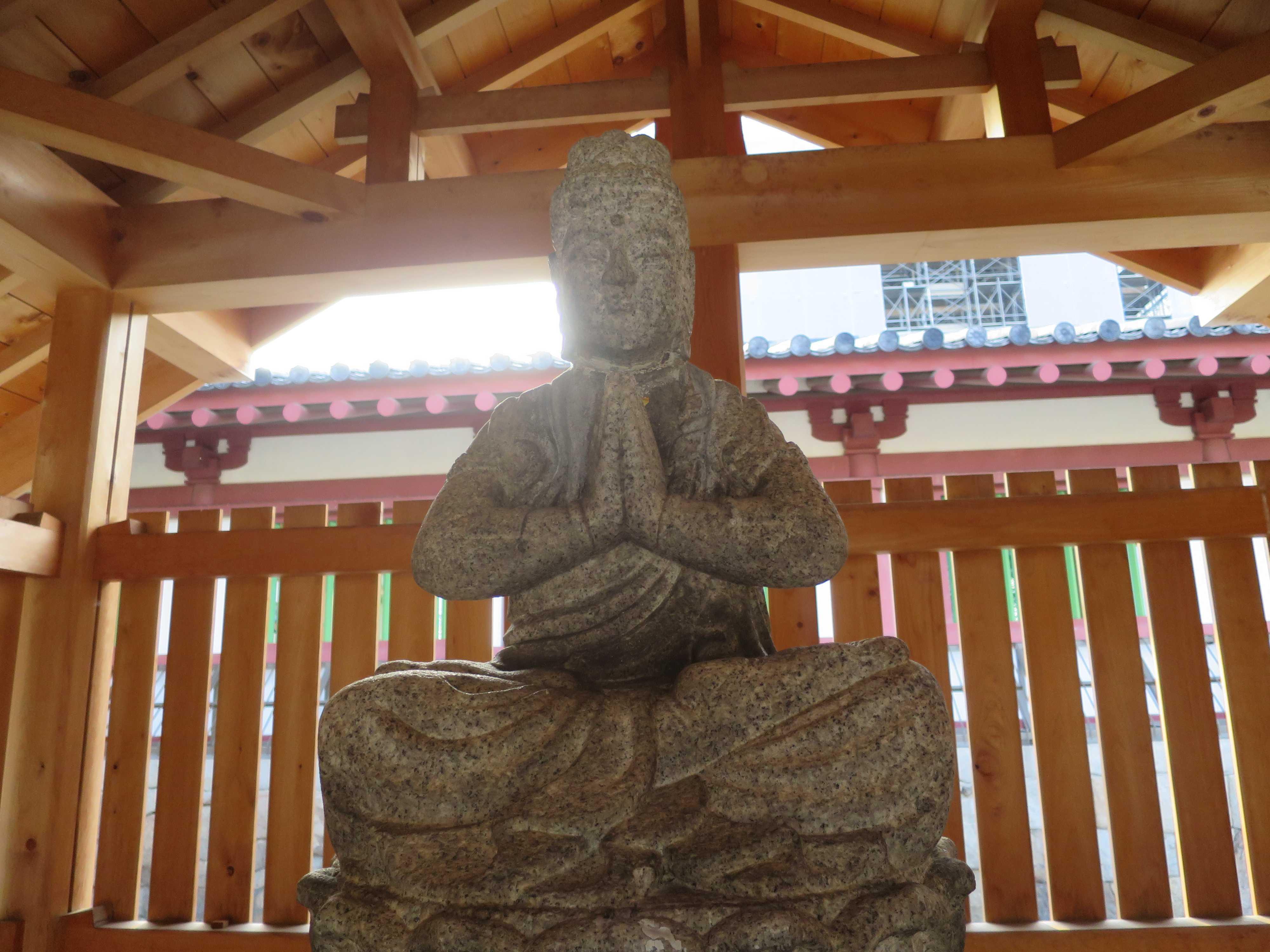 四天王寺 普賢菩薩像