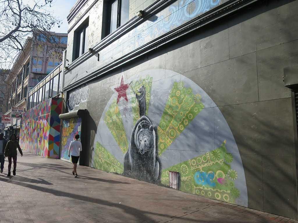 サンフランシスコのストリートアート