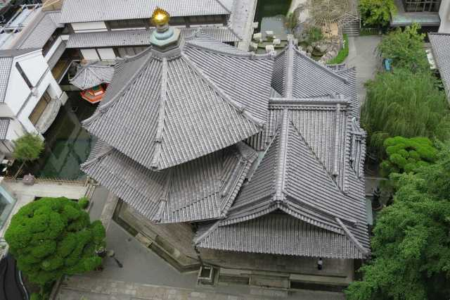 京都・六角堂 - 親鸞聖人の六角堂夢告