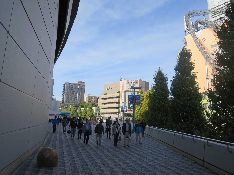 東京地下鉄(東京メトロ) 丸ノ内線の後楽園駅