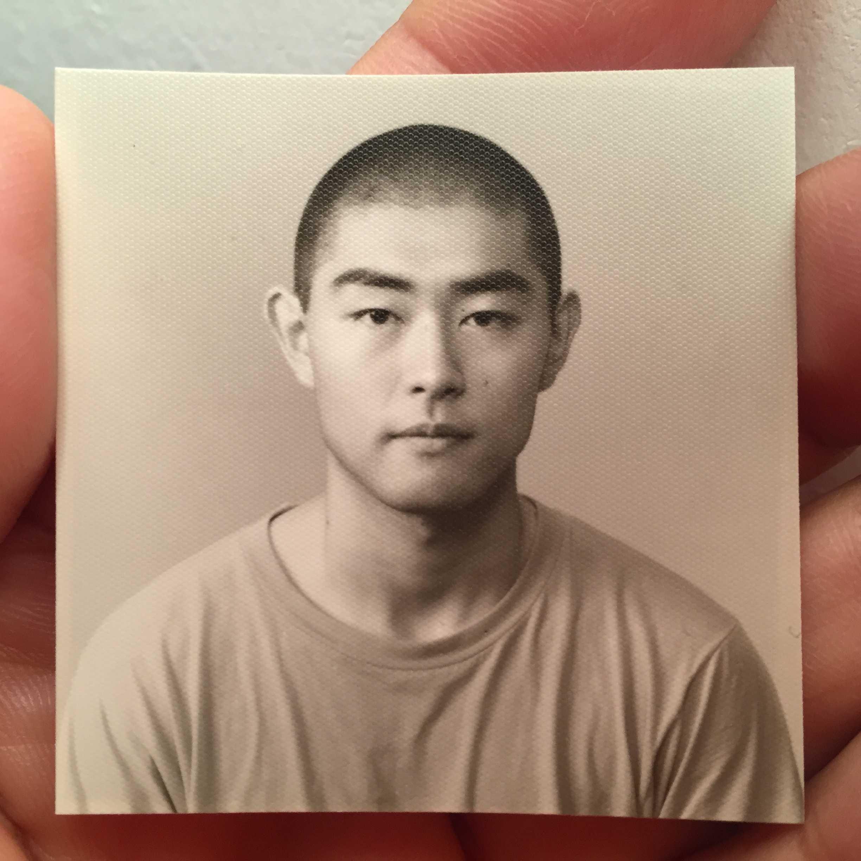 18歳か19歳の村内伸弘の顔写真