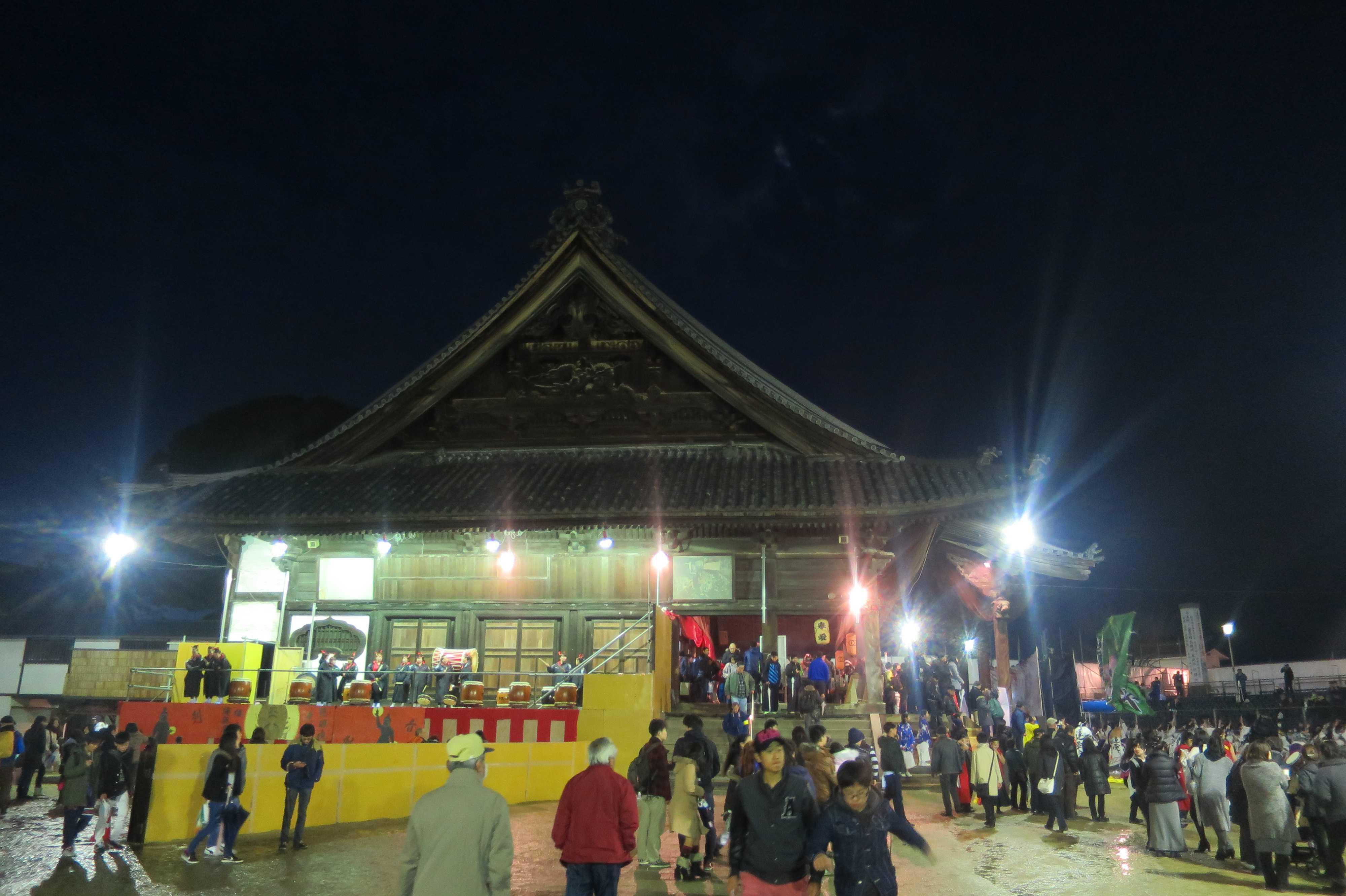 西大寺本堂 文久3年(1863年)建造