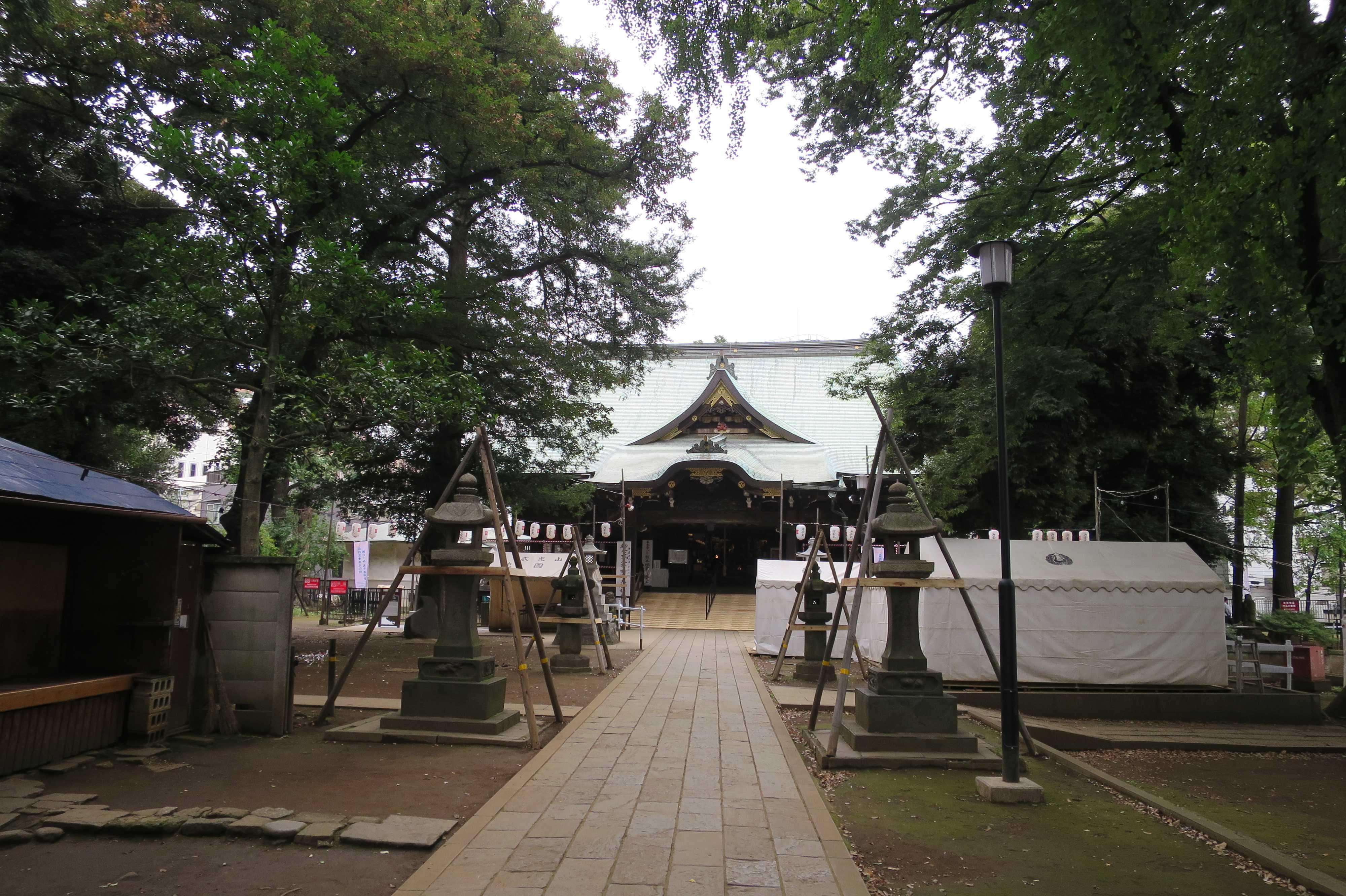 東京 雑司が谷・鬼子母神堂(本殿)