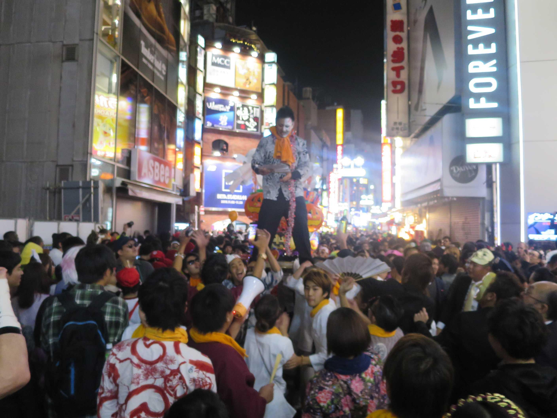 渋谷ハロウィーン - 渋谷センター街