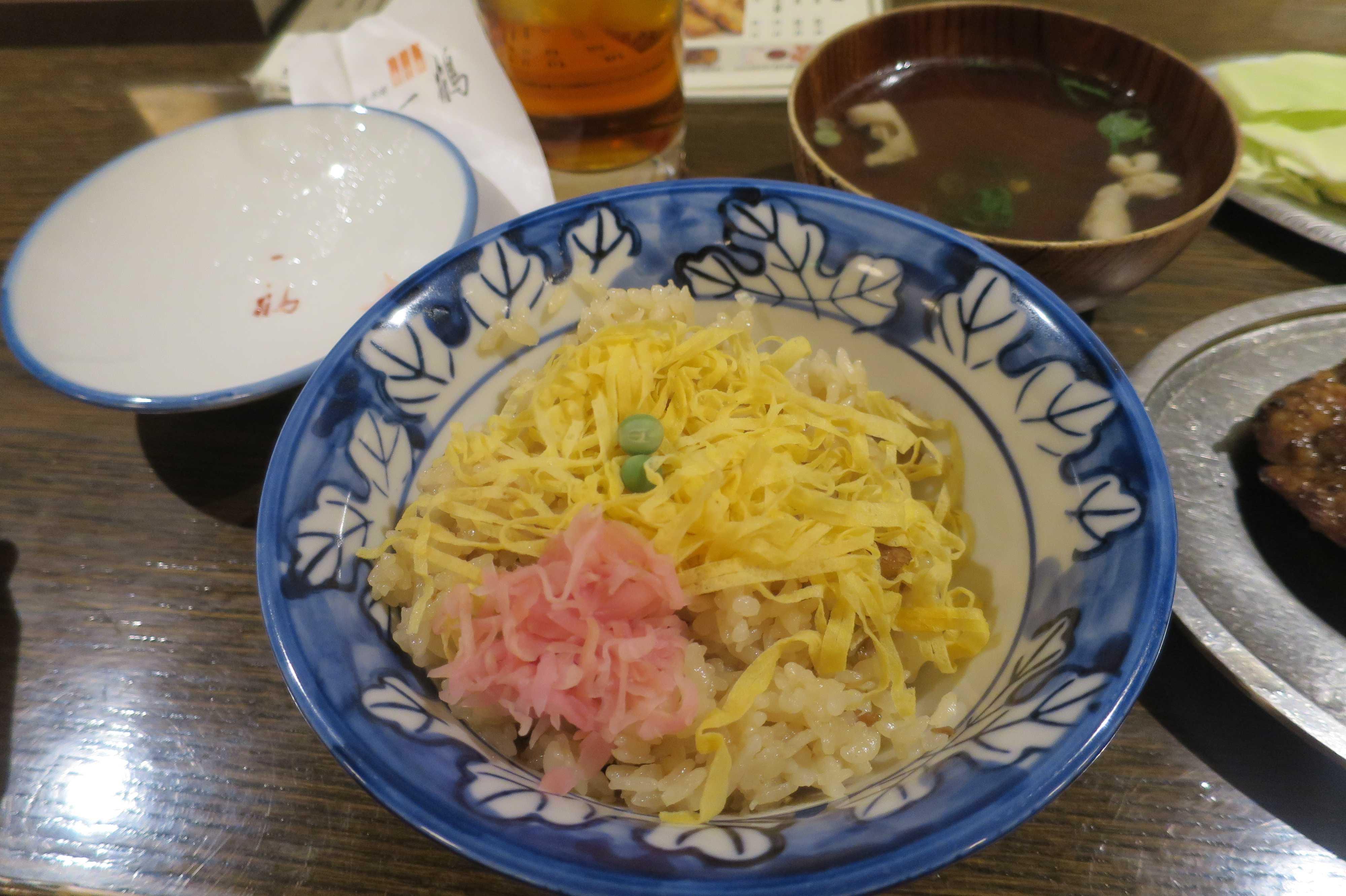 一鶴 とりめし(スープ付)
