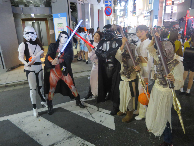 渋谷ハロウィーン - スターウォーズ