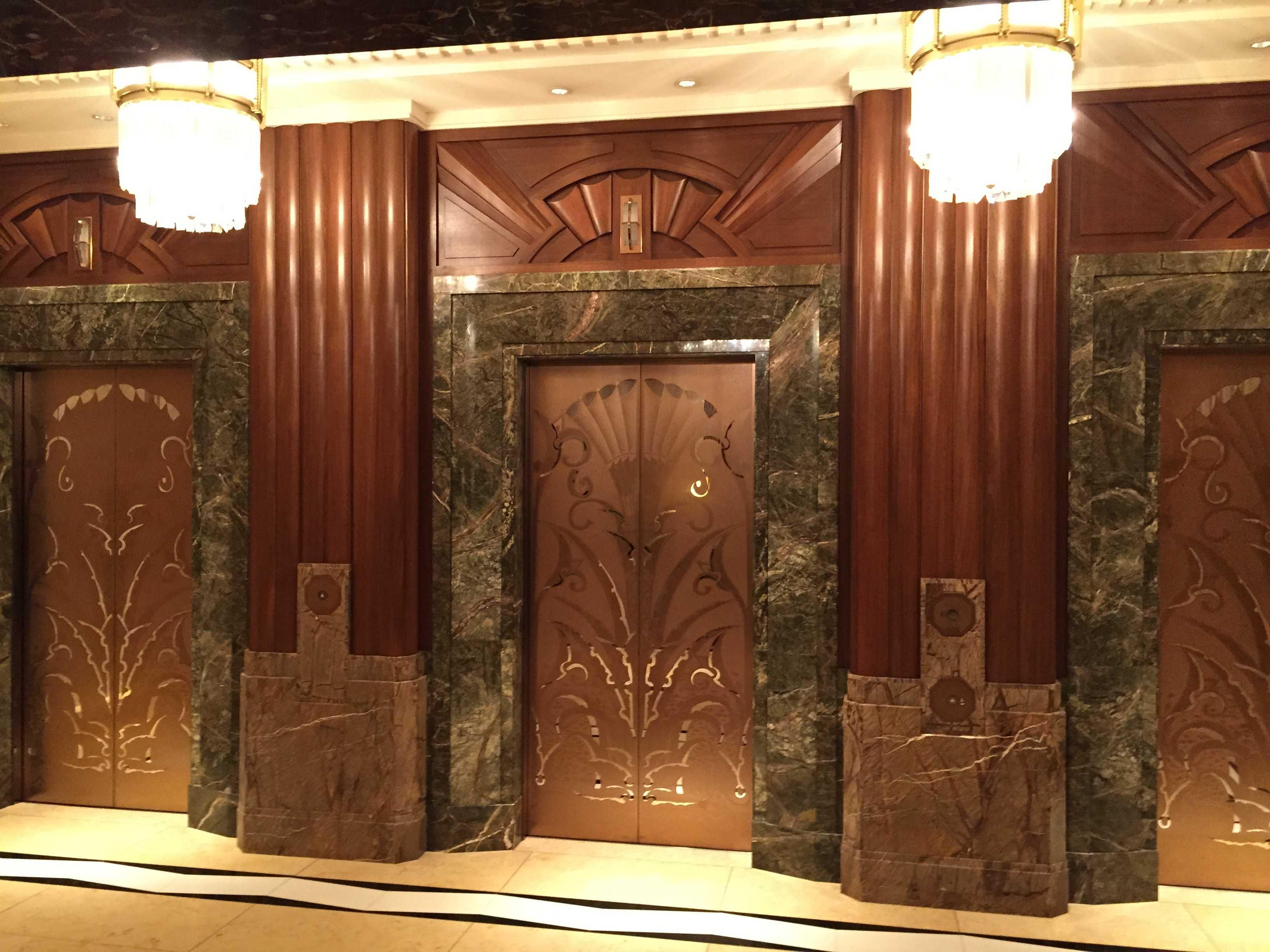東京ベイコート倶楽部のエレベーター