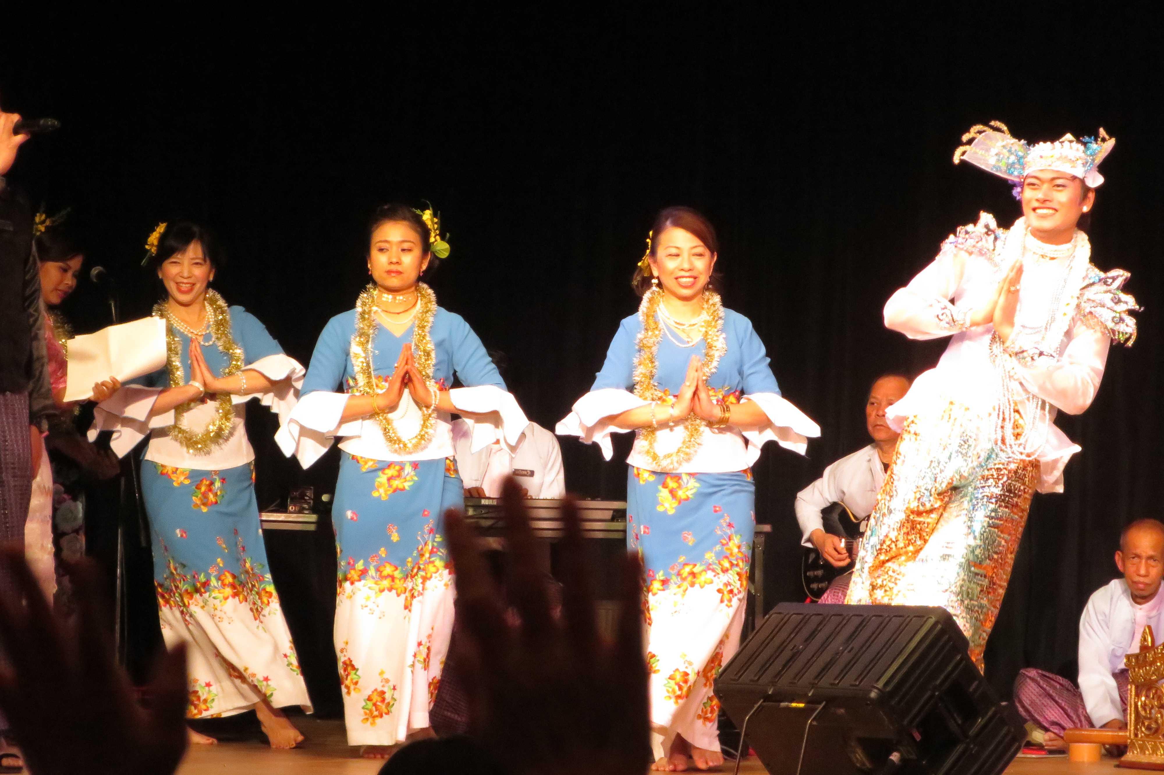ミャンマーの伝統芸能 - ミャンマー祭り2016
