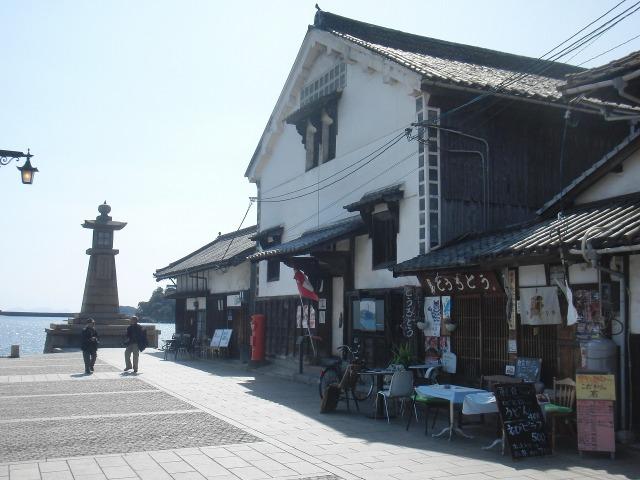 鞆の浦(とものうら)の坂本龍馬いろは丸展示館