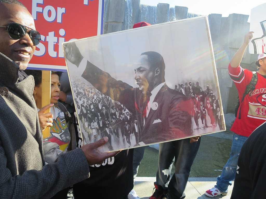 マーティン・ルーサー・キング・ジュニア牧師の写真