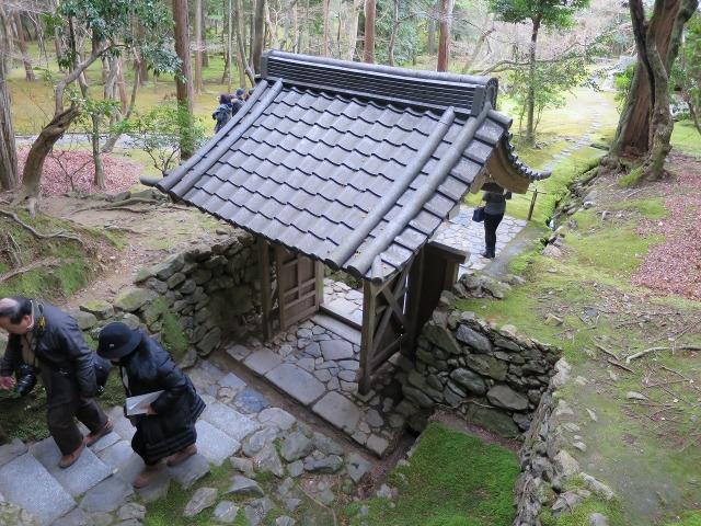 苔寺(西芳寺)の門