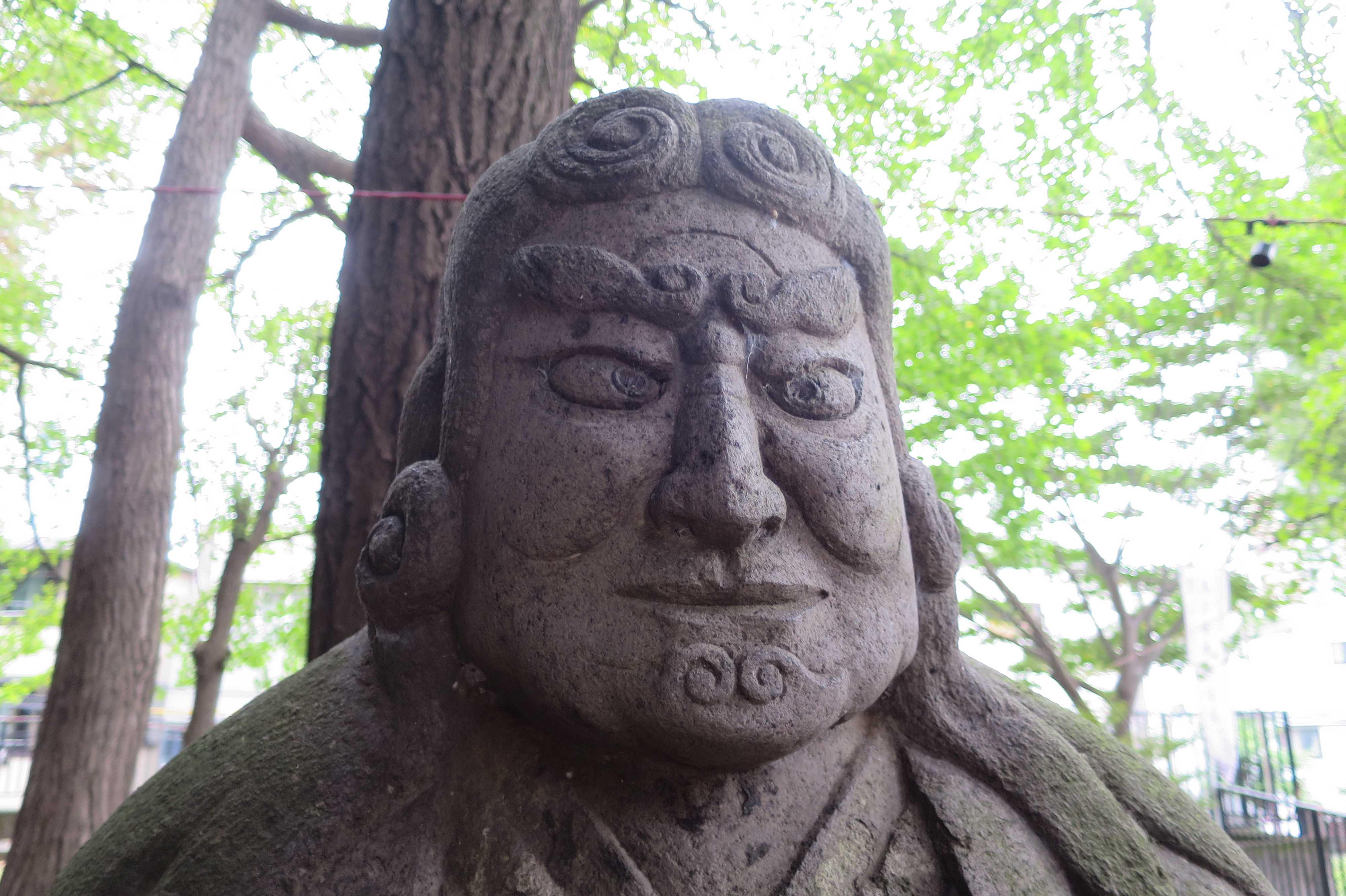 東京 雑司が谷・鬼子母神堂 - 鬼子母神のご尊顔