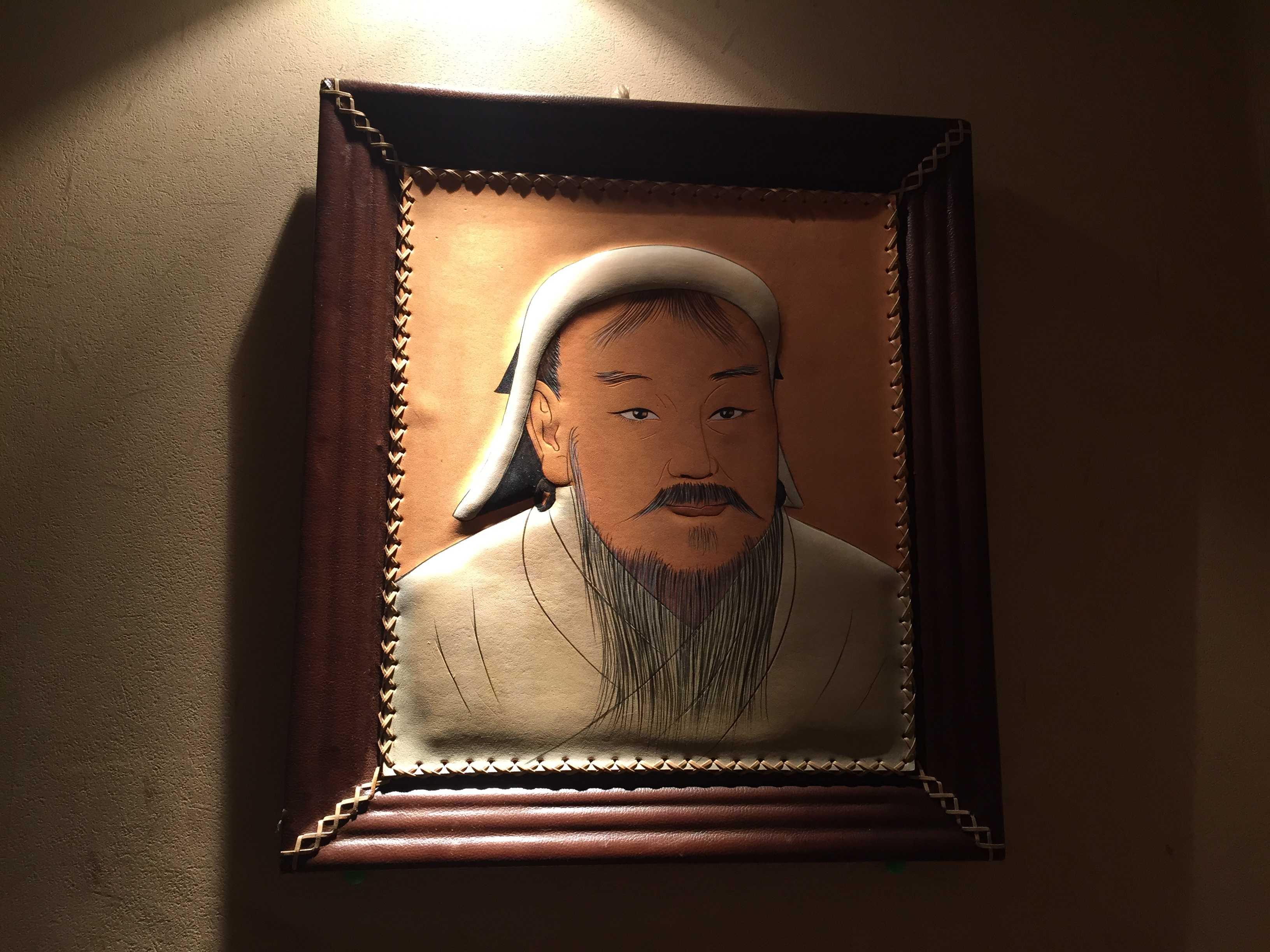 チンギス・ハン(成吉思汗)の肖像 - 小尾羊 新大久保店