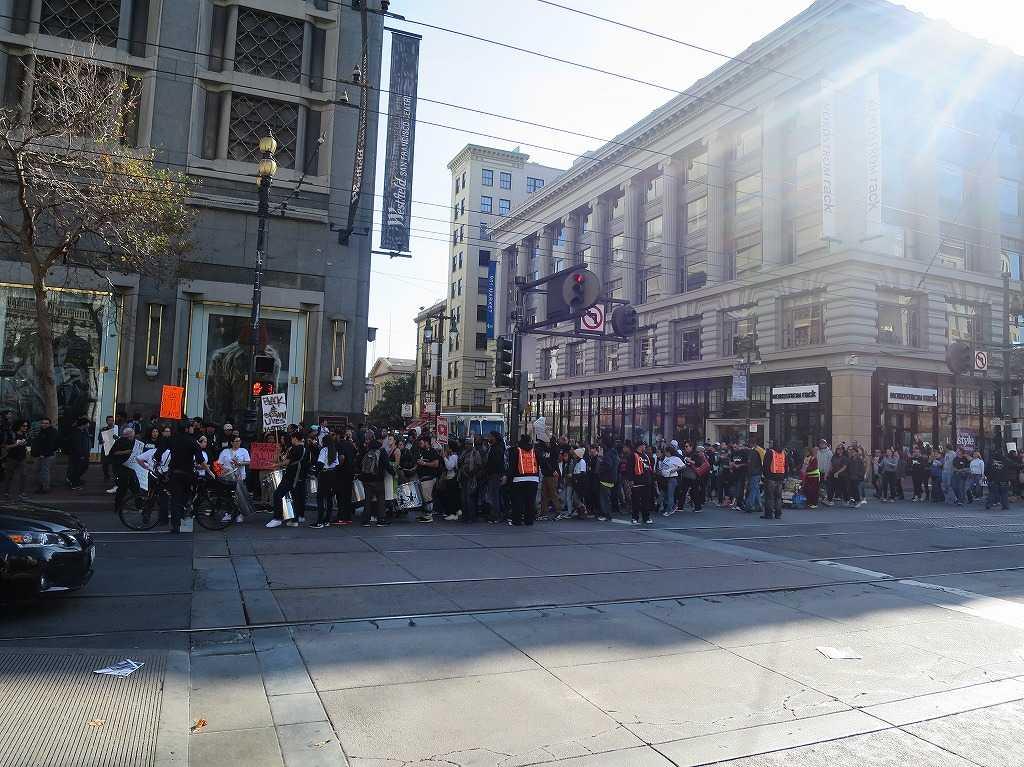 サンフランシスコ - デモ行進