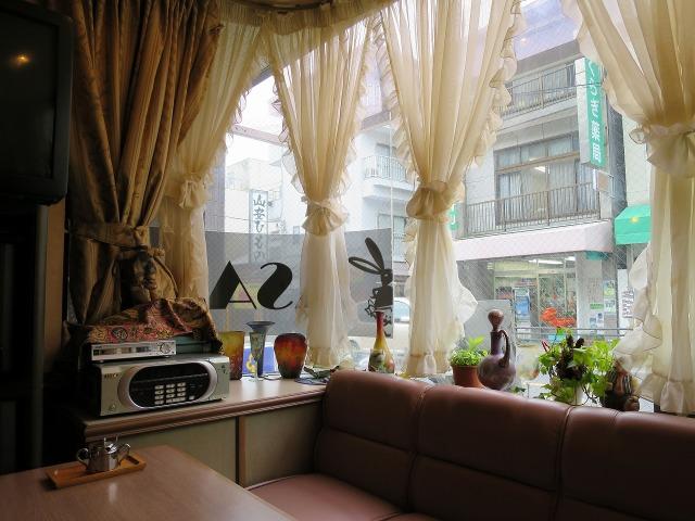 箱根湯本の喫茶店