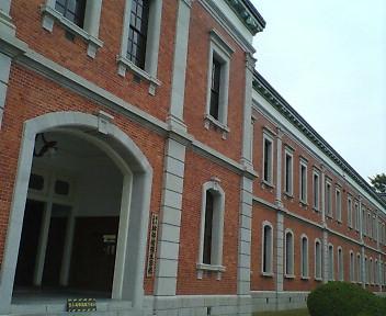 広島県江田島市:旧海軍兵学校は赤レンガがうつくしい