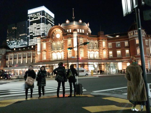 東京駅の夜景 - 丸の内