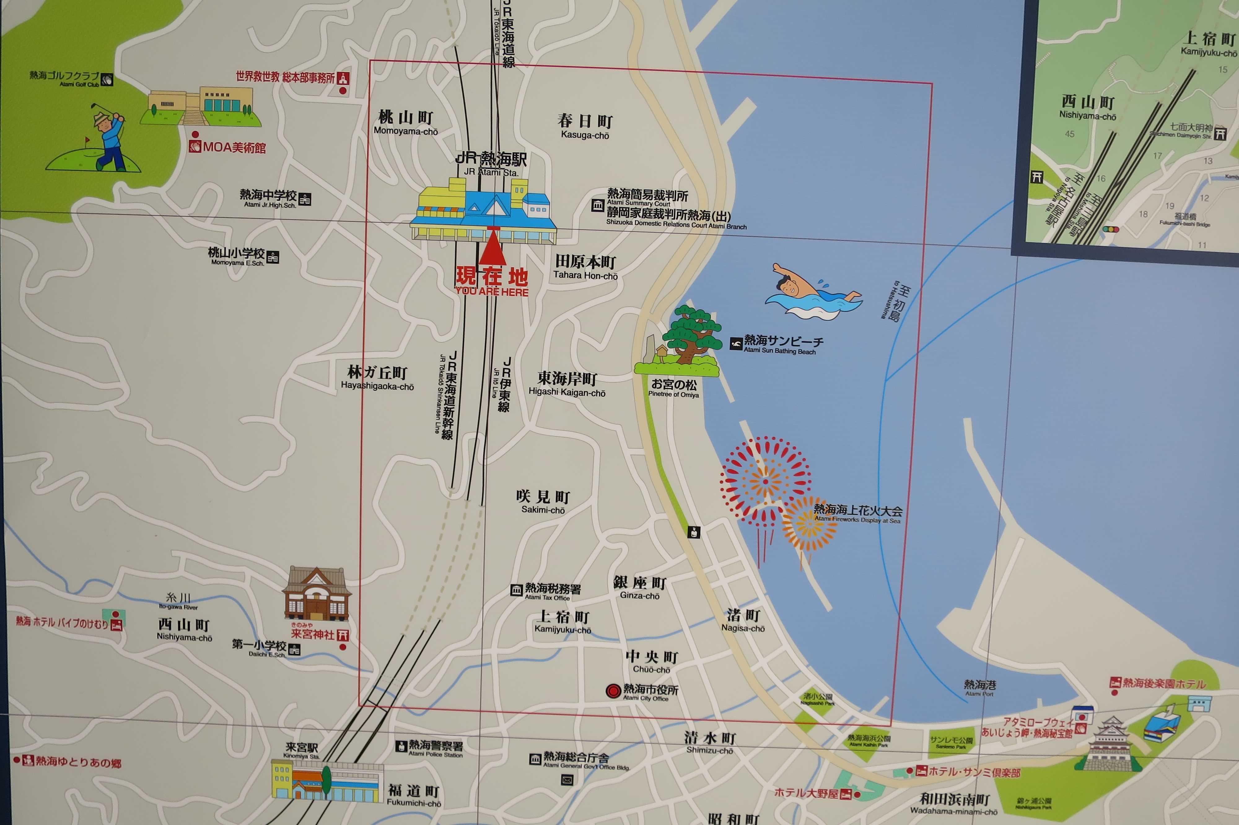 熱海の地図(熱海マップ)