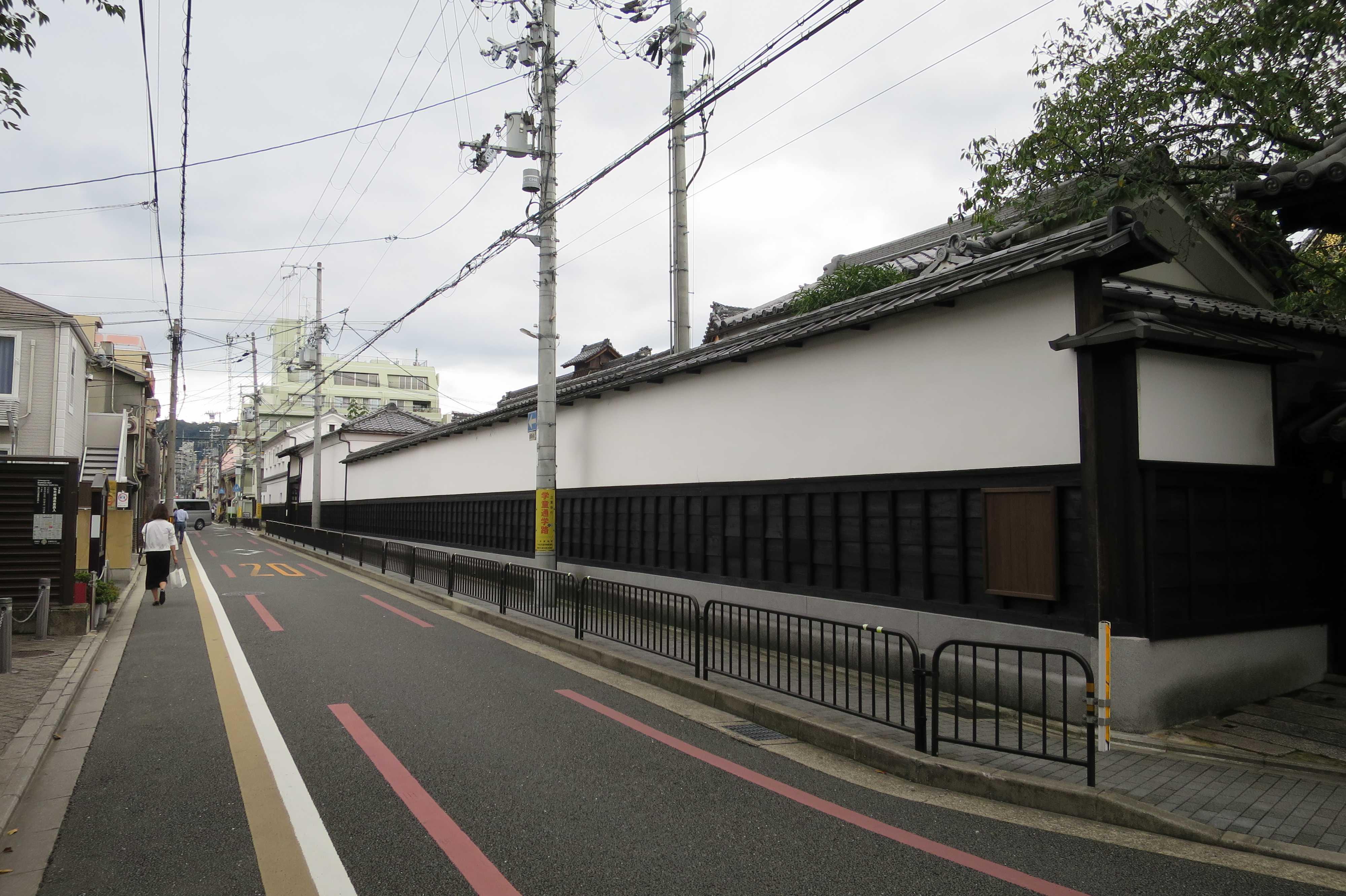京都・仏光寺通りと仏光寺