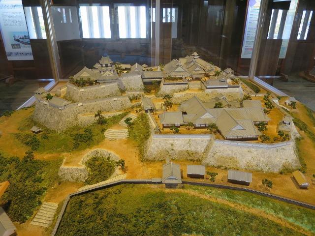 高知城の模型