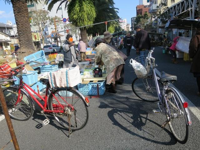 高知・日曜市の自転車
