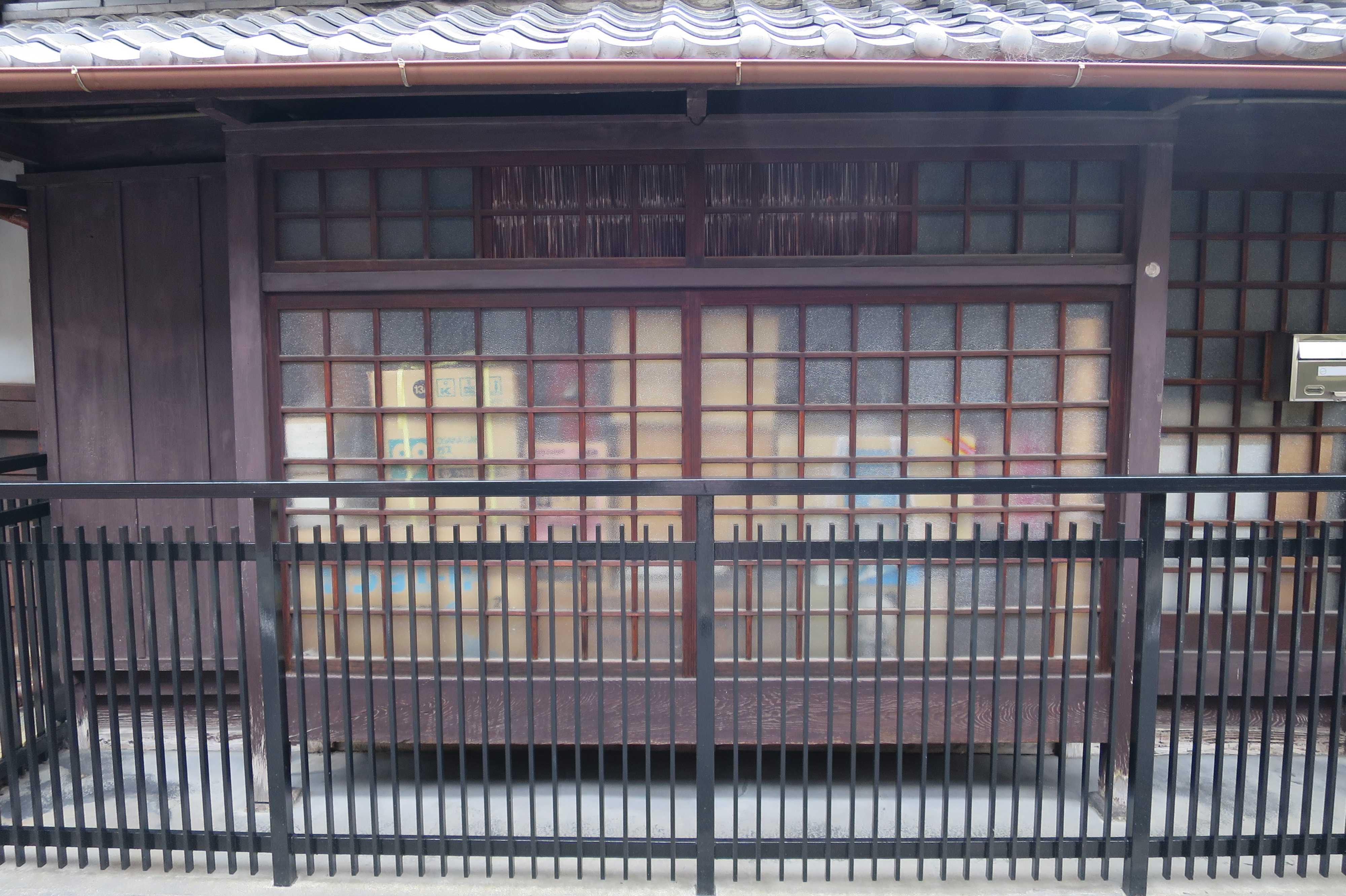 京町家の出窓