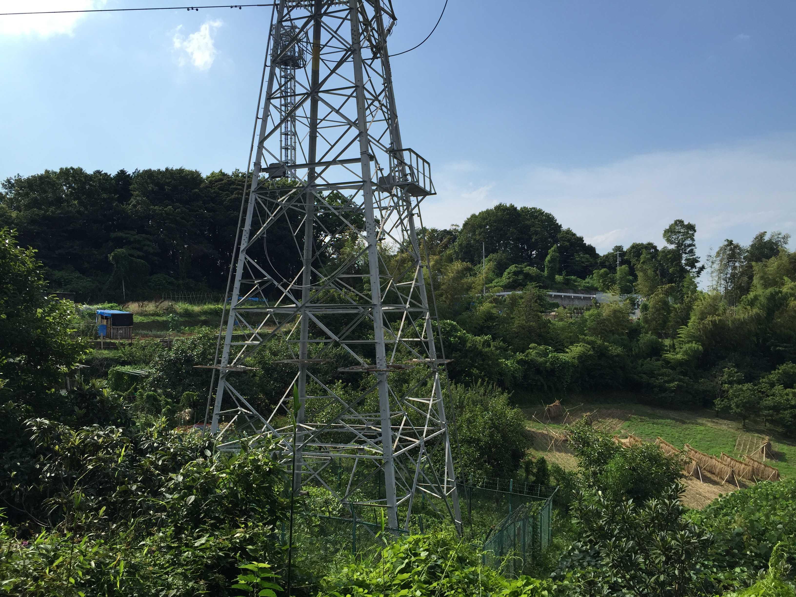 町田市小野路 - 送電鉄塔