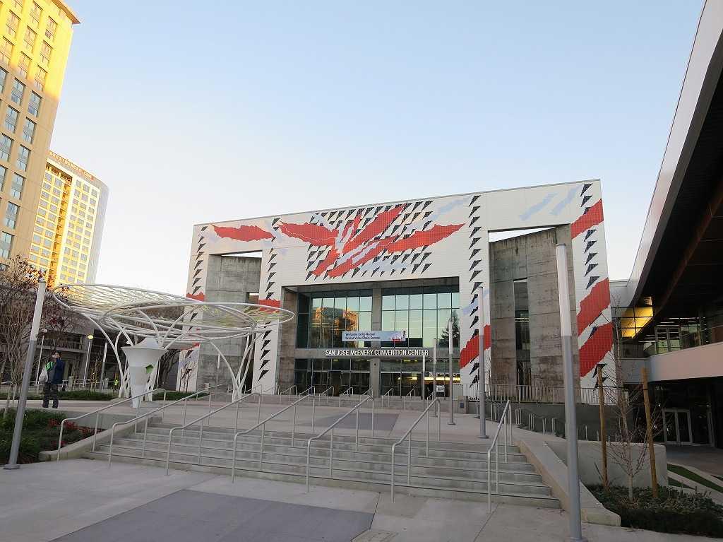 サンノゼ・コンベンションセンター(SAN JOSE McENERY CONVENTION CENTER)外観