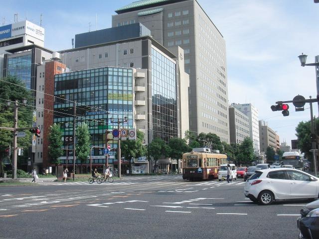 広島市内を走るチンチン電車