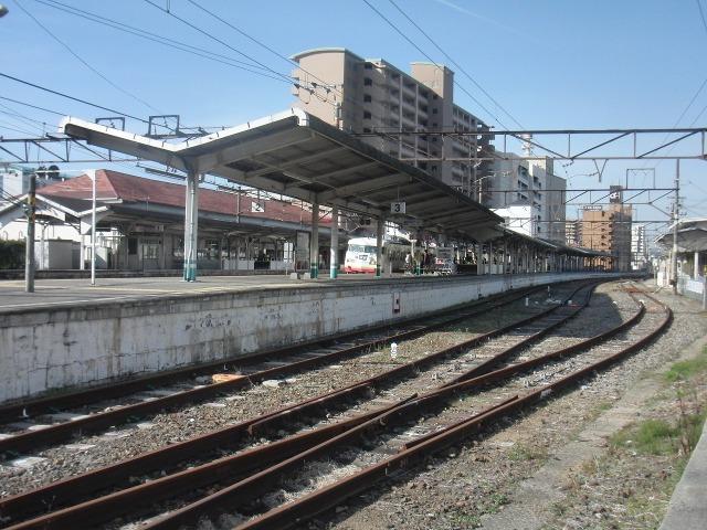 JR尾道駅のホーム