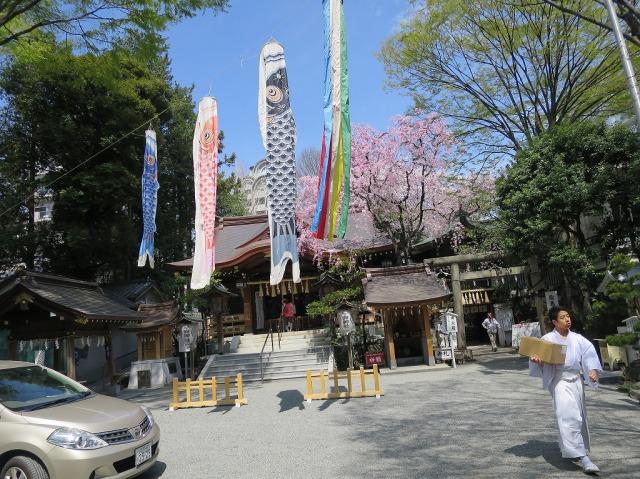 子安神社(東京都八王子市)