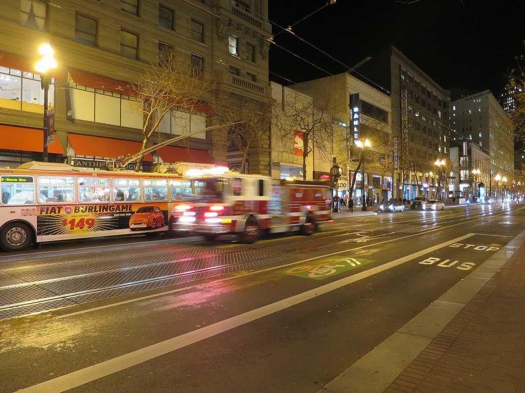 サンフランシスコ - 消防車