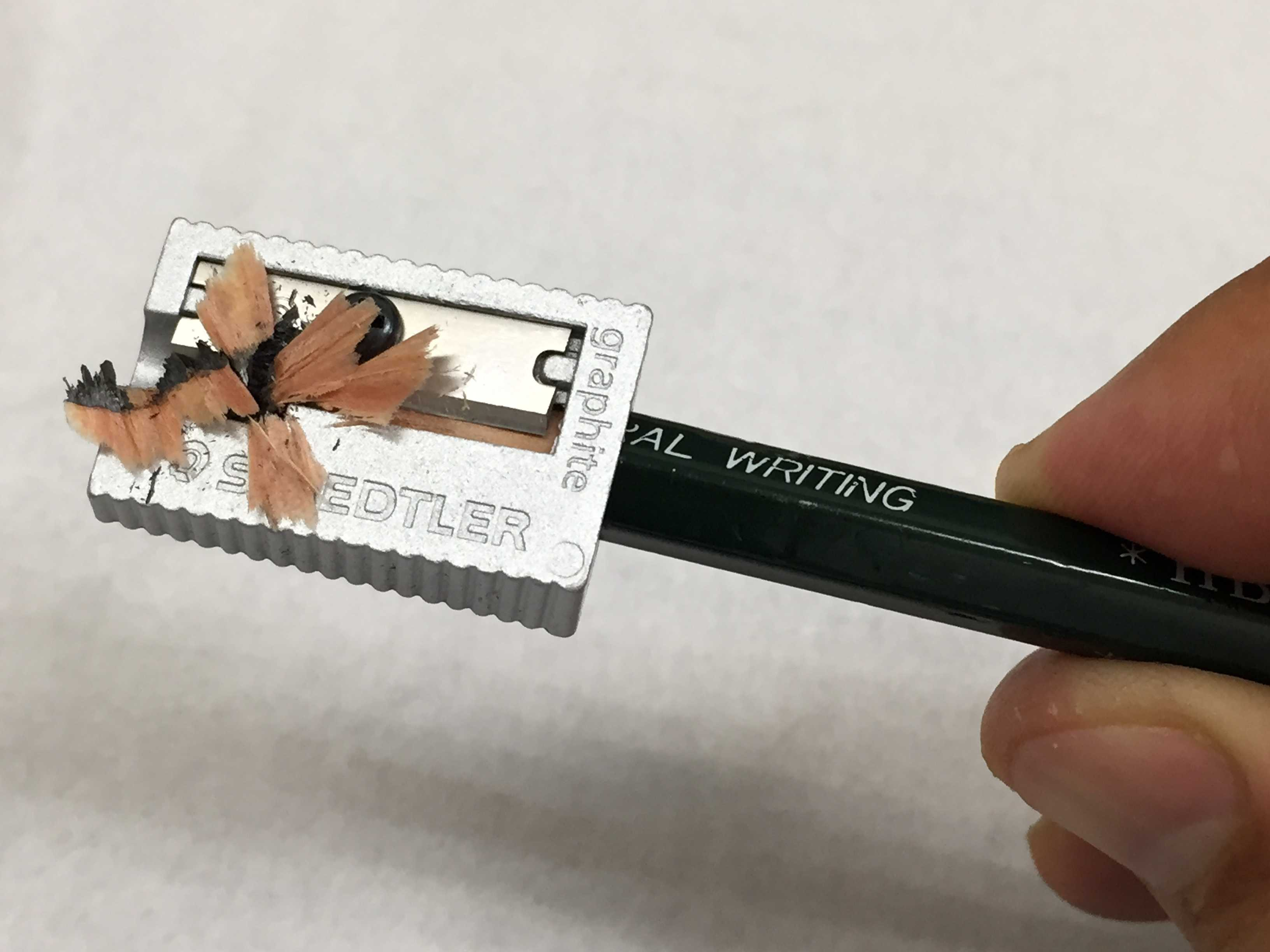 花のような鉛筆の削りカス