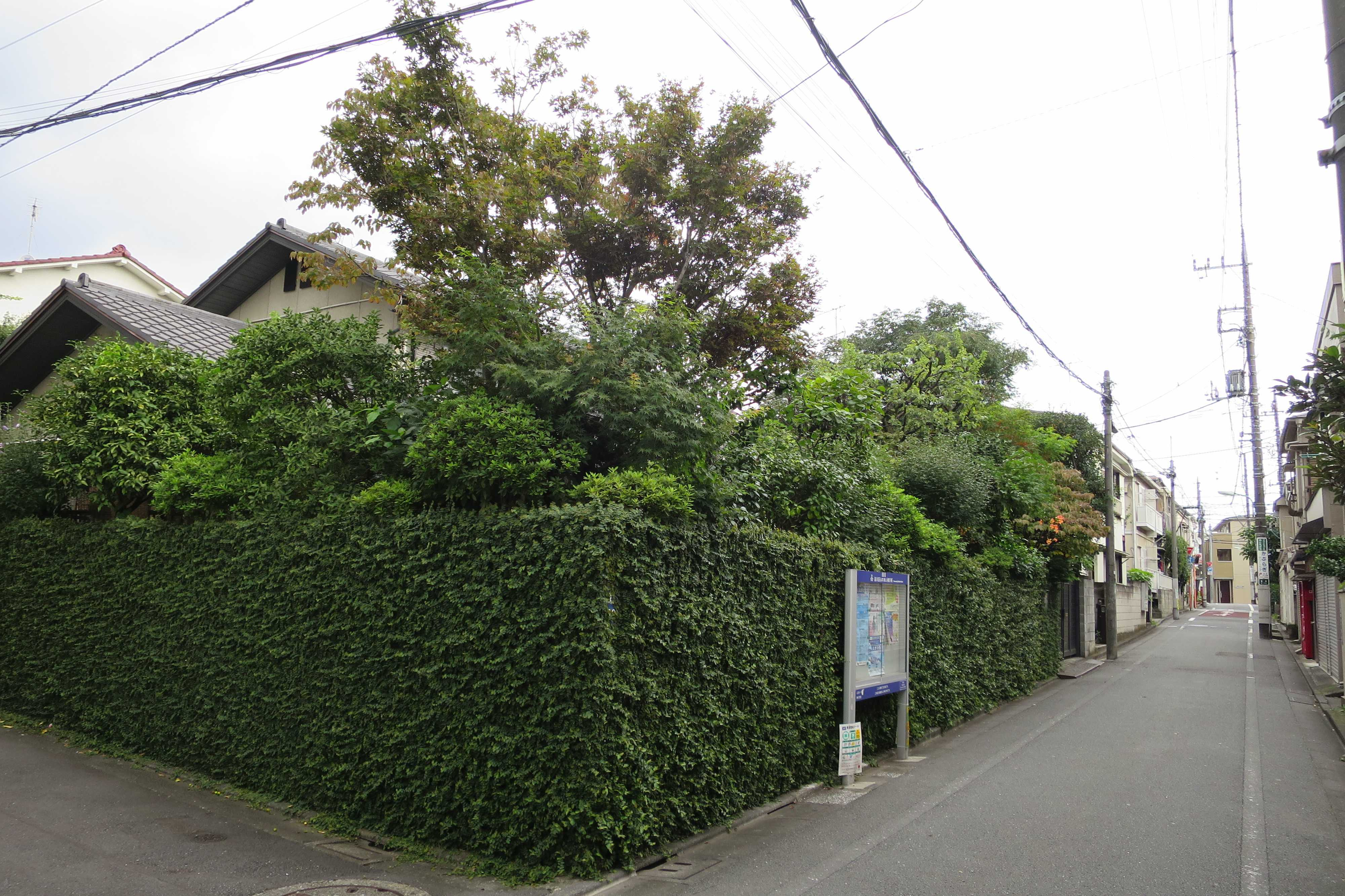 ステキな生け垣のお家 - 東京都品川区