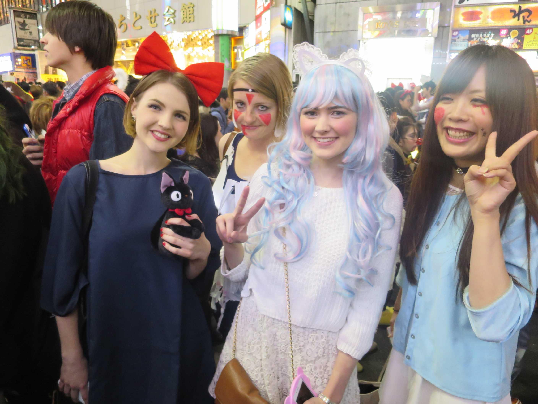 渋谷ハロウィン - 超かわいい外国の女の子