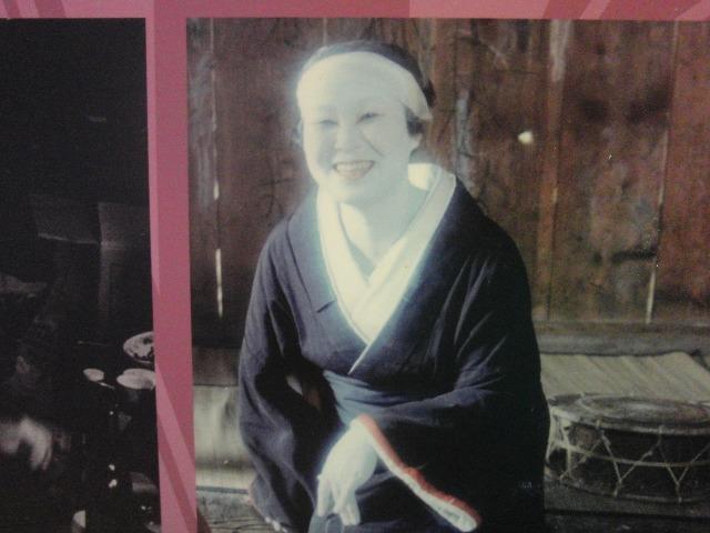 檜枝岐歌舞伎の女役者