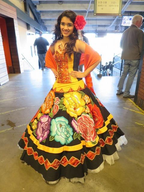 ラテン系美少女の写真
